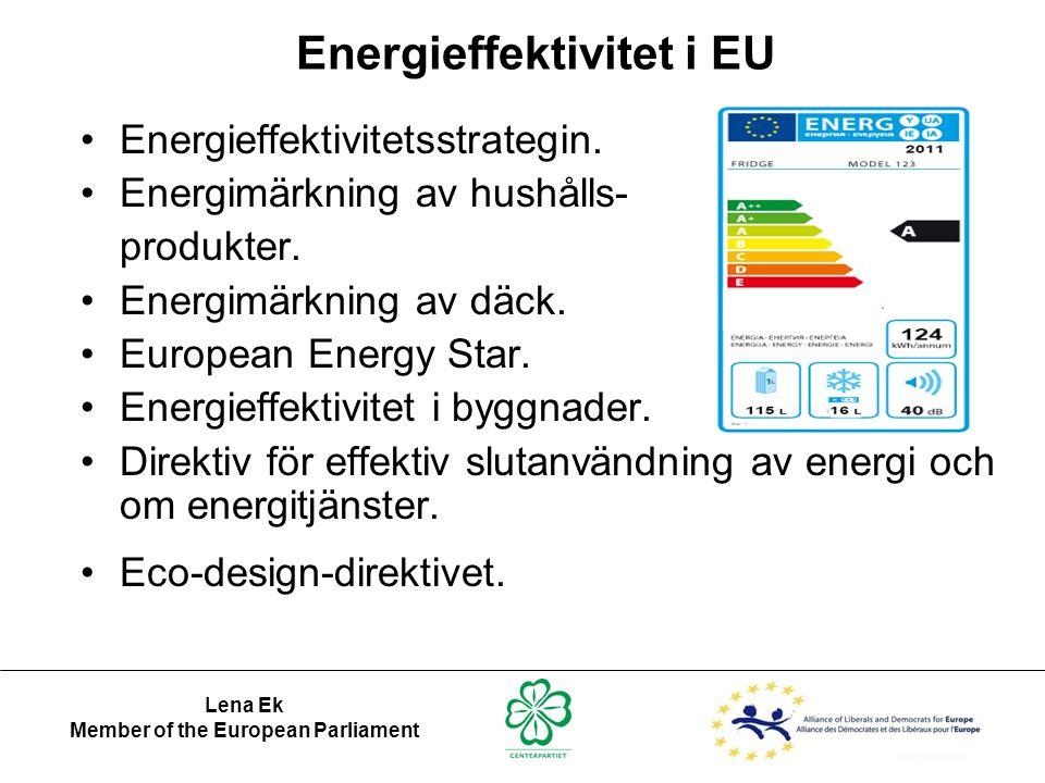 Energieffektivitet i EU