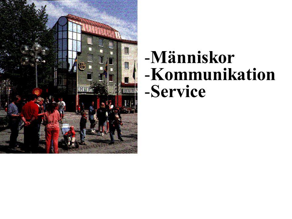 Människor Kommunikation Service Mötesplats Borlänge
