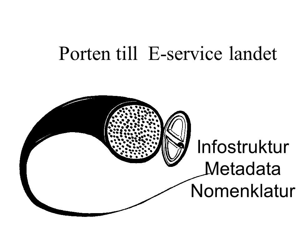 Porten till E-service landet