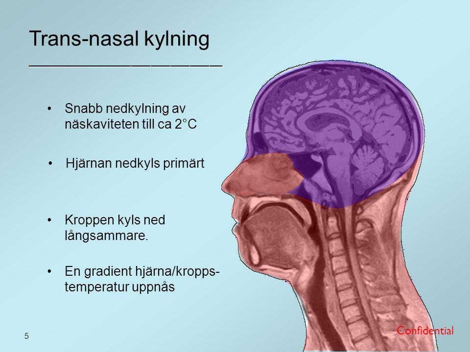 Trans-nasal kylning ______________________________
