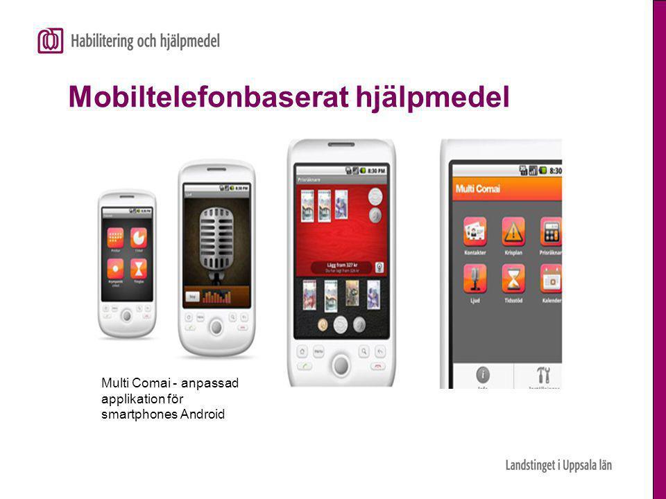 Mobiltelefonbaserat hjälpmedel
