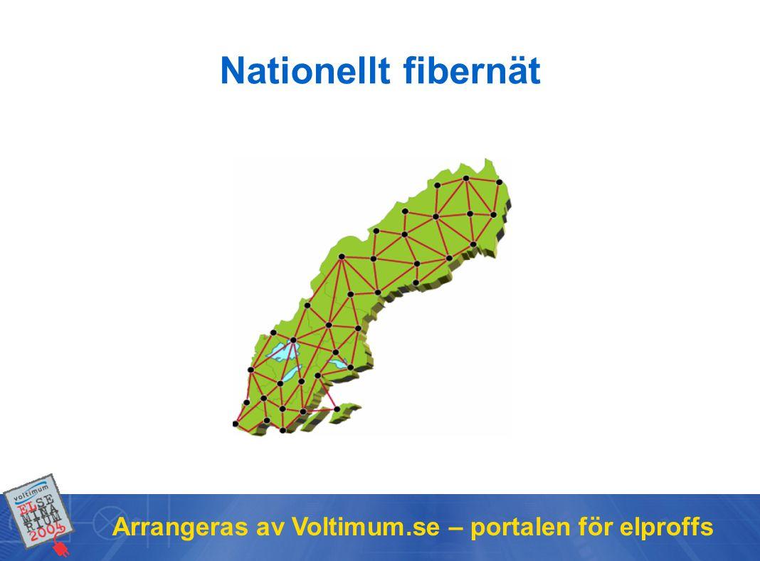 Nationellt fibernät Arrangeras av Voltimum.se – portalen för elproffs