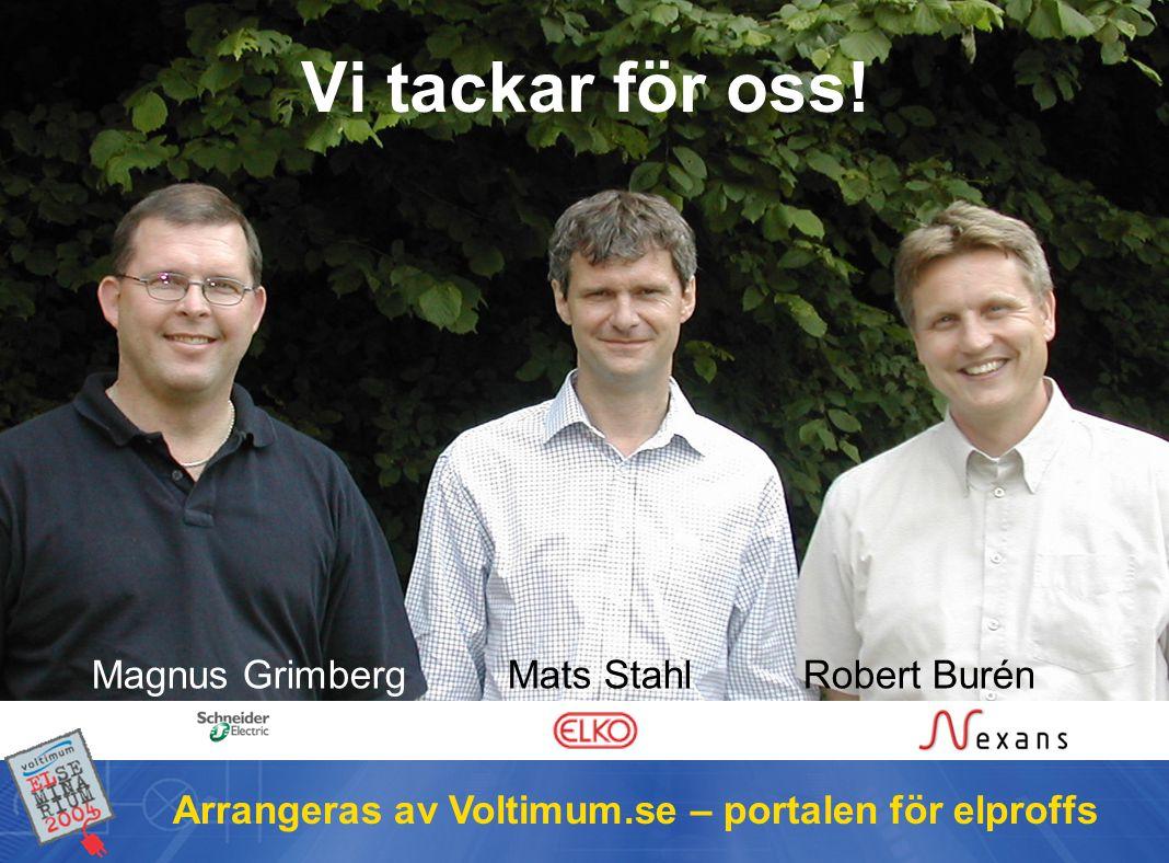 Voltimum.se Magnus Grimberg Mats Stahl Robert Burén