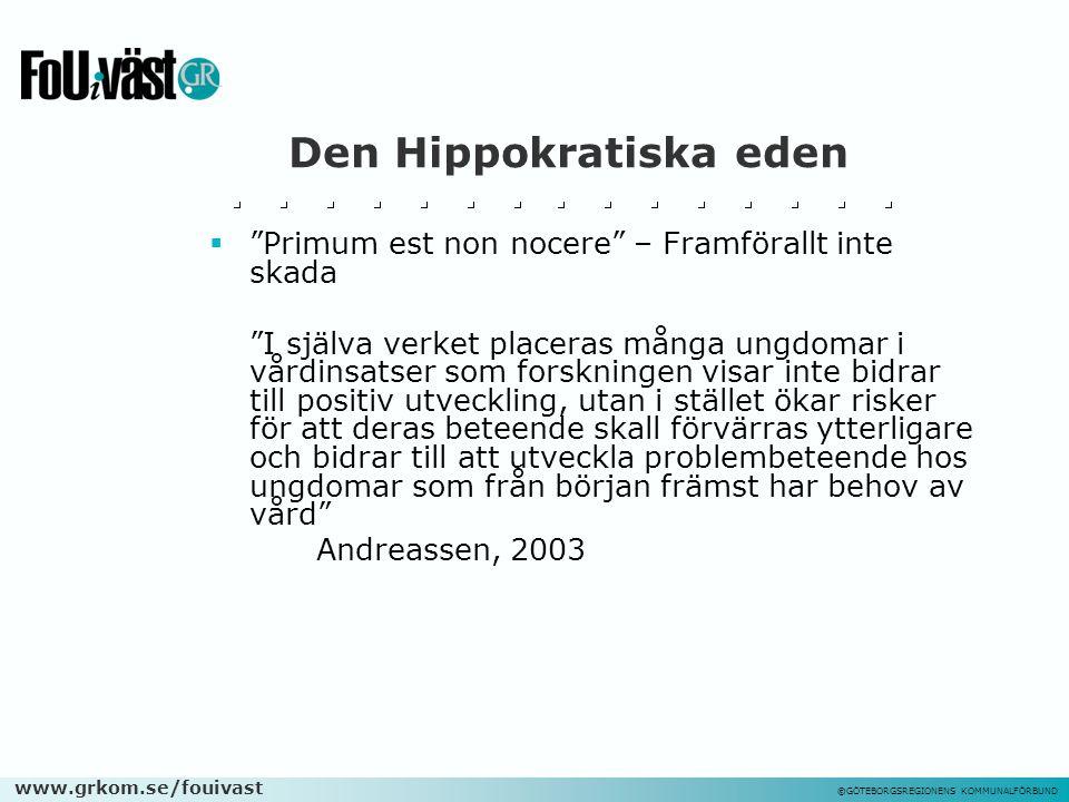 Den Hippokratiska eden