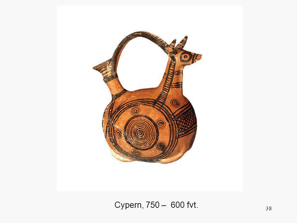 Cypern, 750 – 600 fvt.