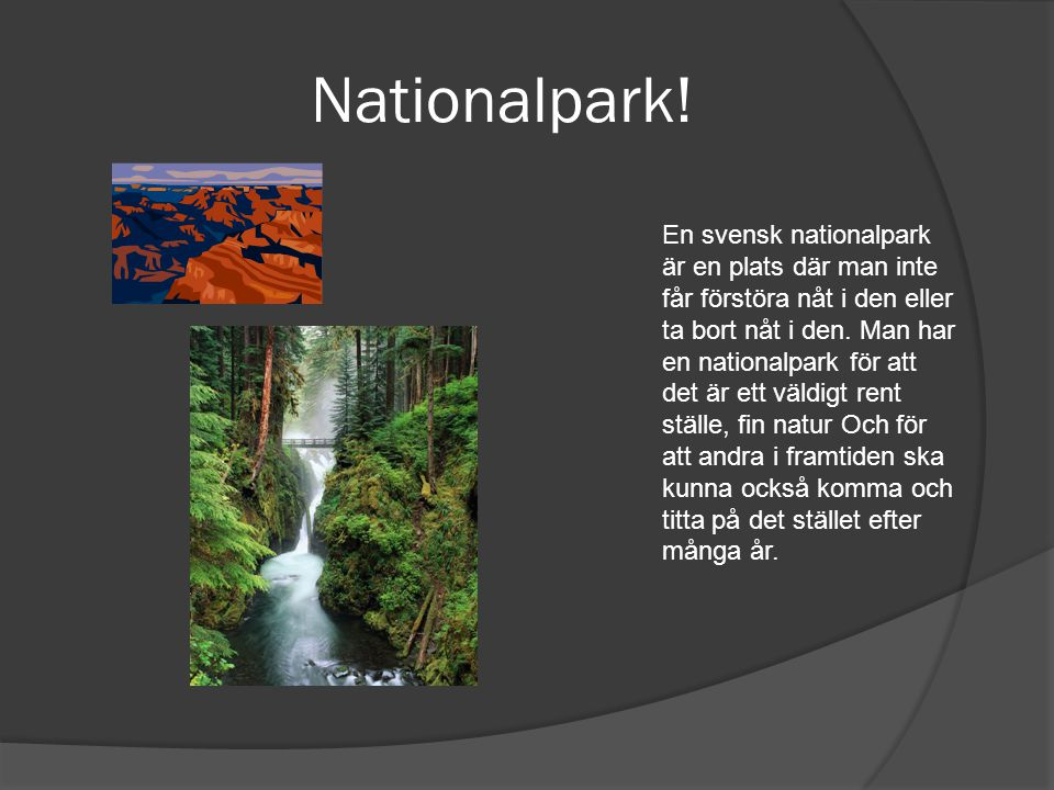 Nationalpark!