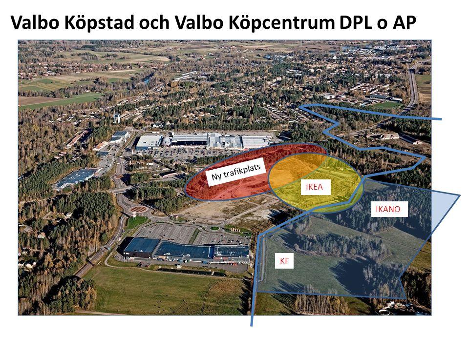 Valbo Köpstad och Valbo Köpcentrum DPL o AP