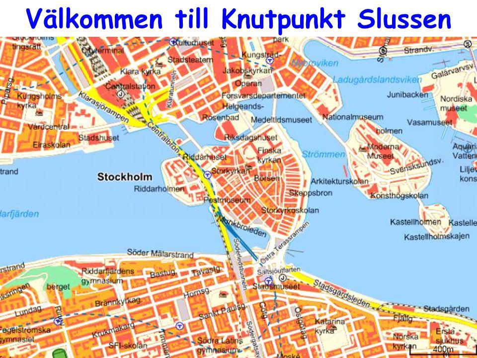 Välkommen till Knutpunkt Slussen