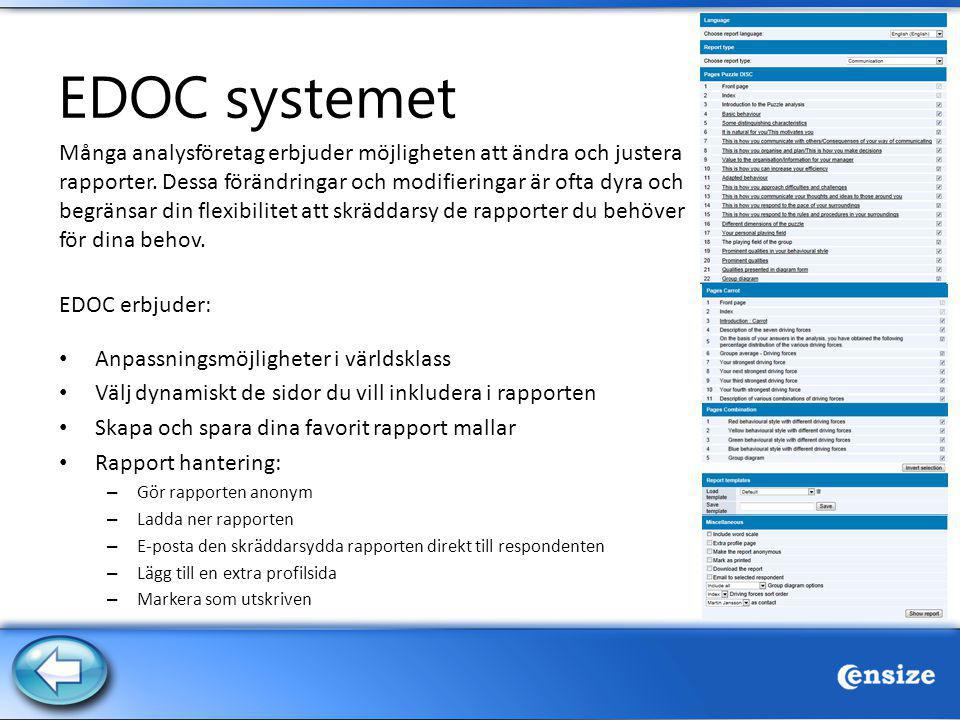 EDOC systemet