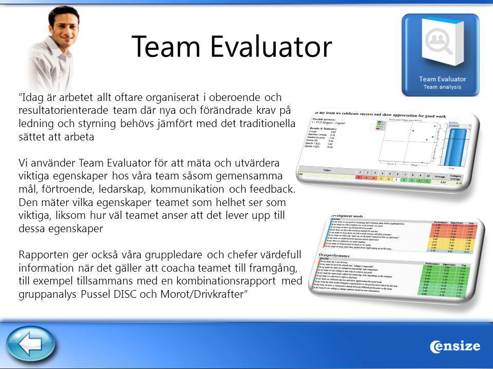 Team Evaluator