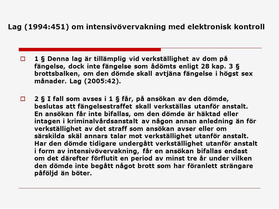 Lag (1994:451) om intensivövervakning med elektronisk kontroll