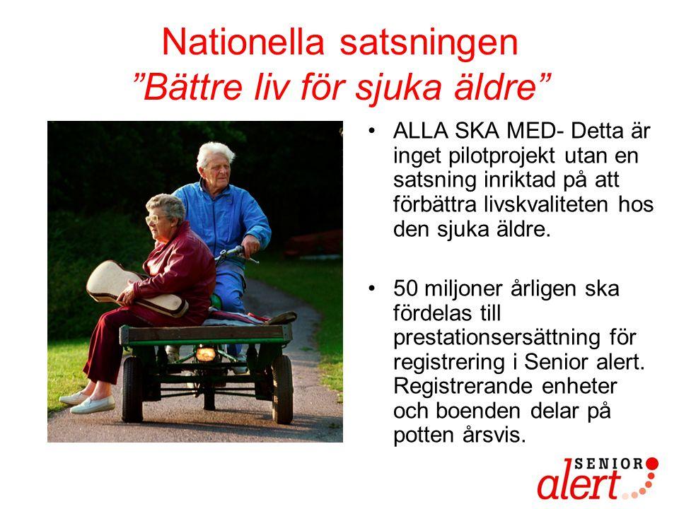 Nationella satsningen Bättre liv för sjuka äldre