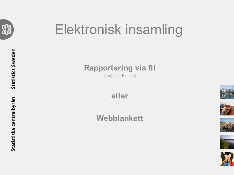 Elektronisk insamling