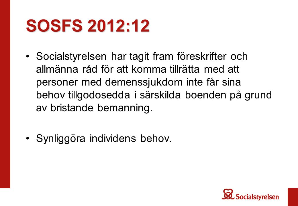SOSFS 2012:12