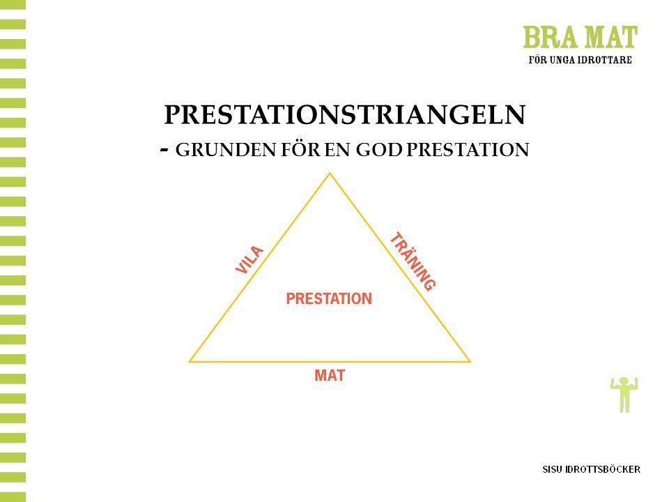 PRESTATIONSTRIANGELN - GRUNDEN FÖR EN GOD PRESTATION