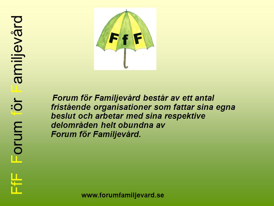 FfF Forum för Familjevård