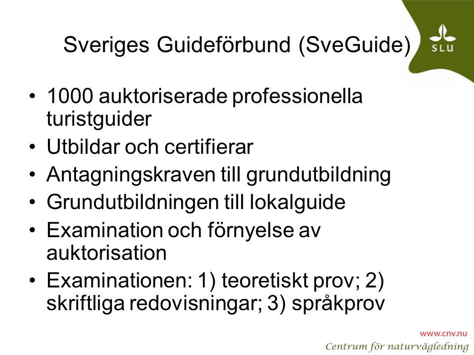 Sveriges Guideförbund (SveGuide)