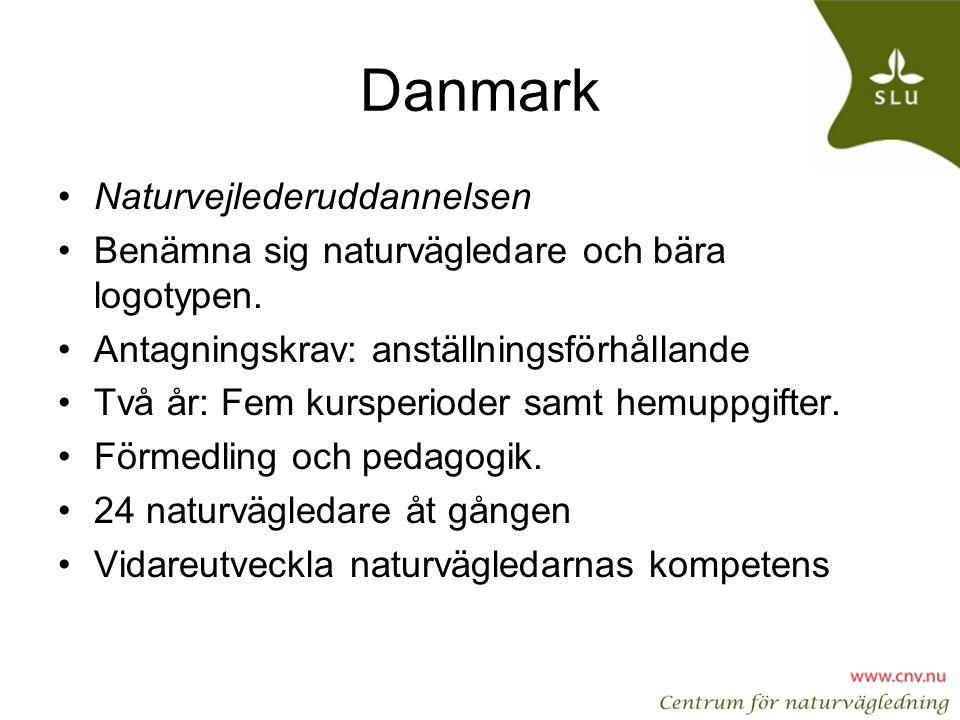 Danmark Naturvejlederuddannelsen