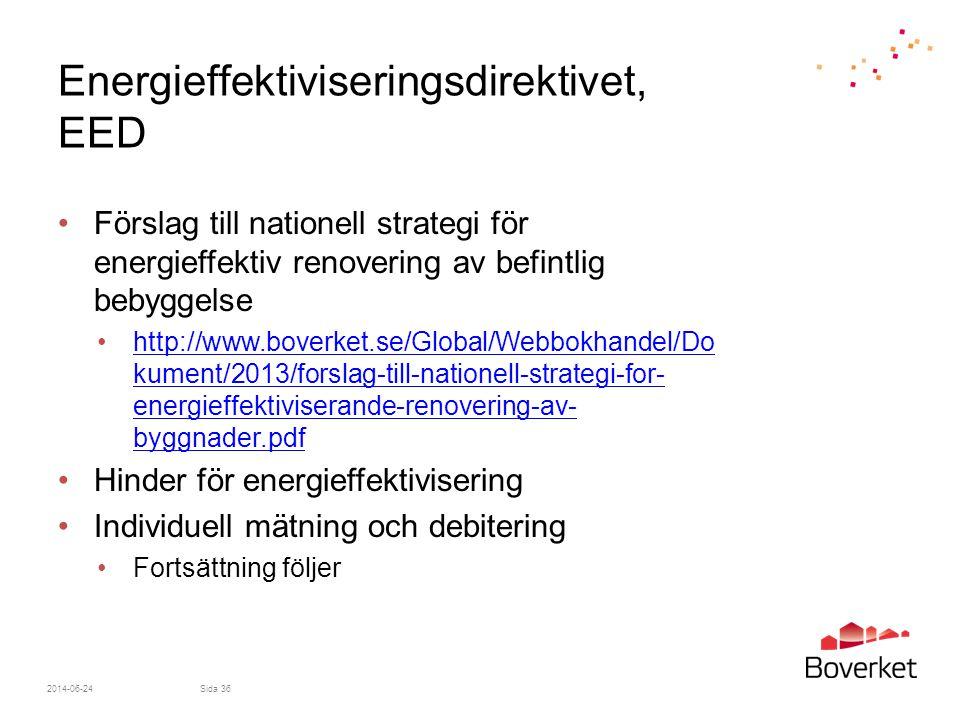 Energieffektiviseringsdirektivet, EED