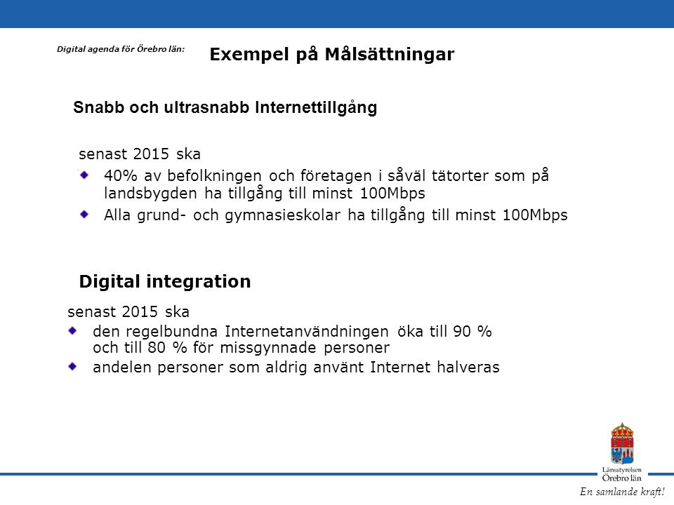 Snabb och ultrasnabb Internettillgång