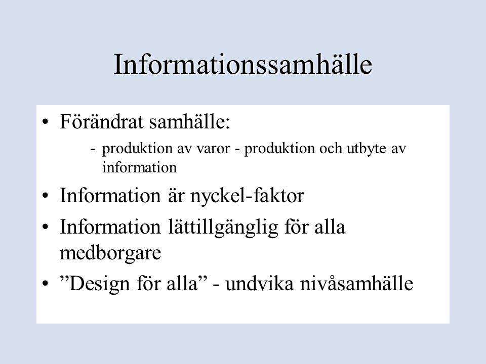 Informationssamhälle