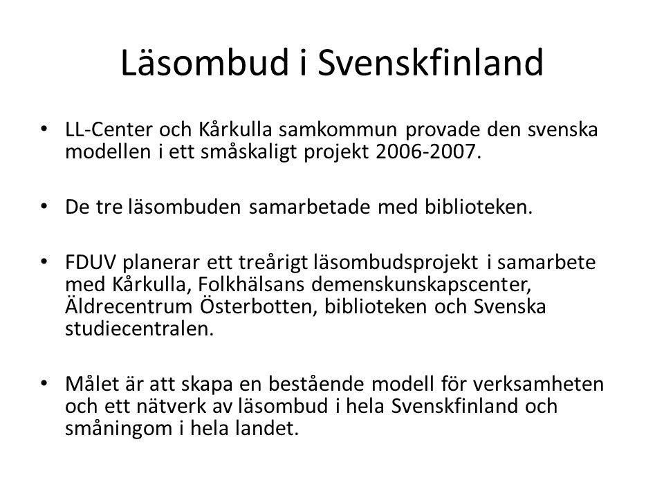 Läsombud i Svenskfinland