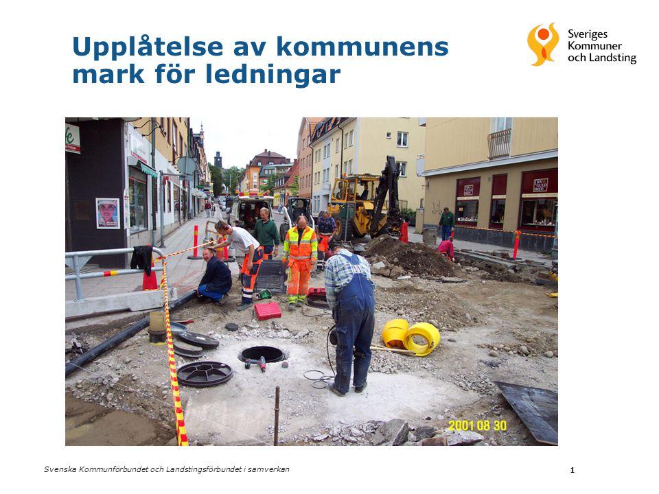 Upplåtelse av kommunens mark för ledningar