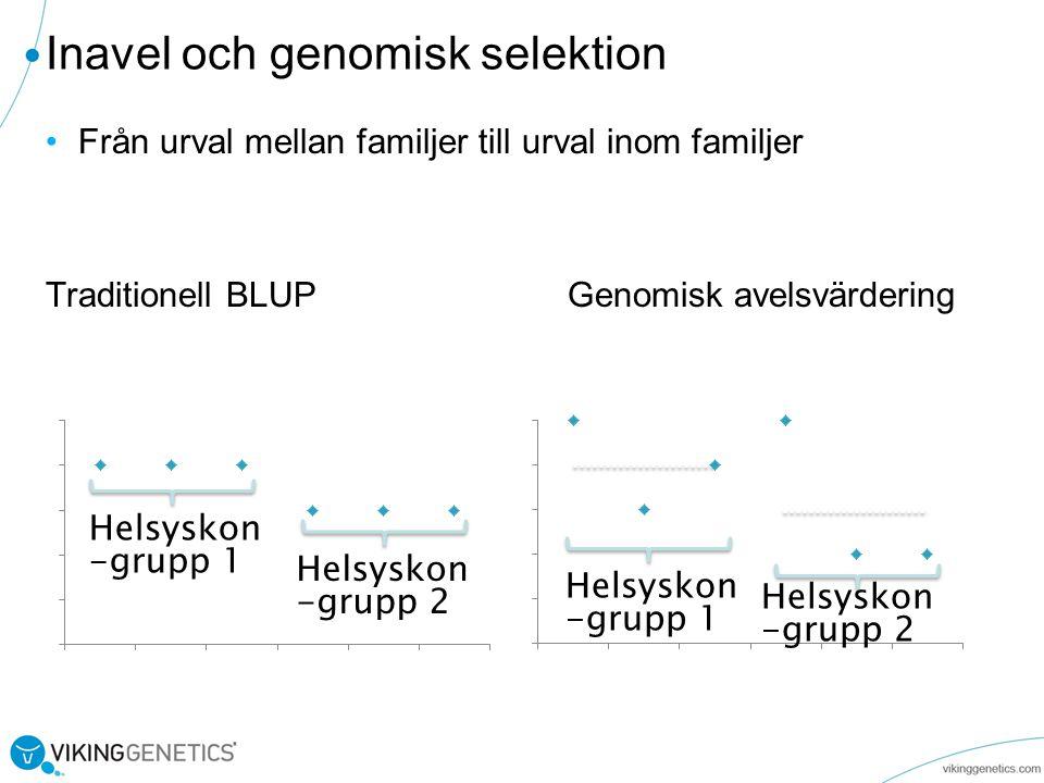 Inavel och genomisk selektion