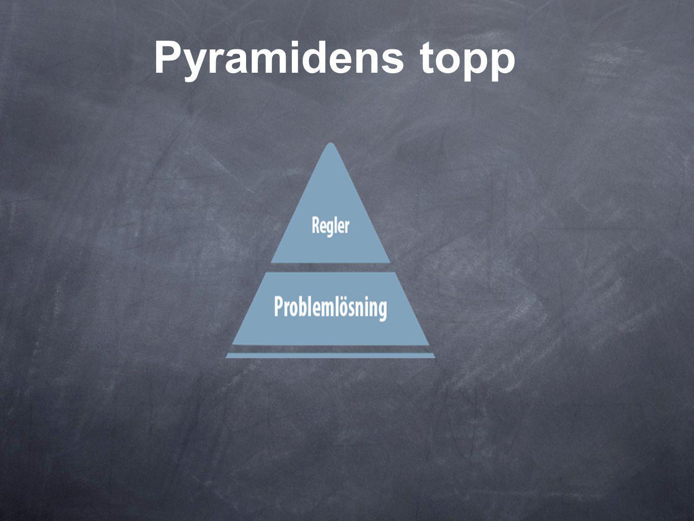Pyramidens topp