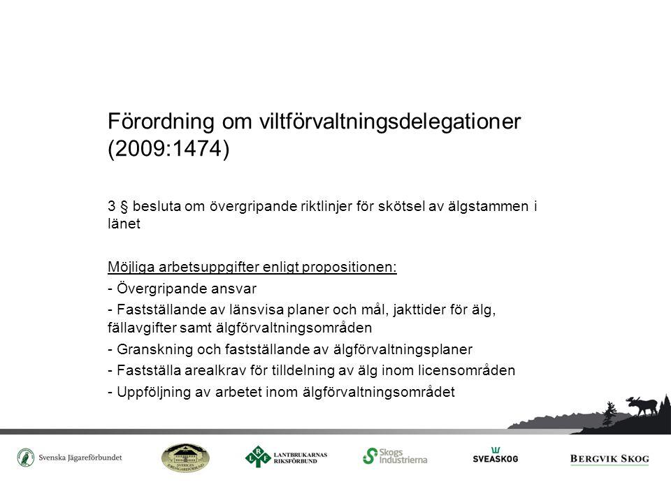 Förordning om viltförvaltningsdelegationer (2009:1474)