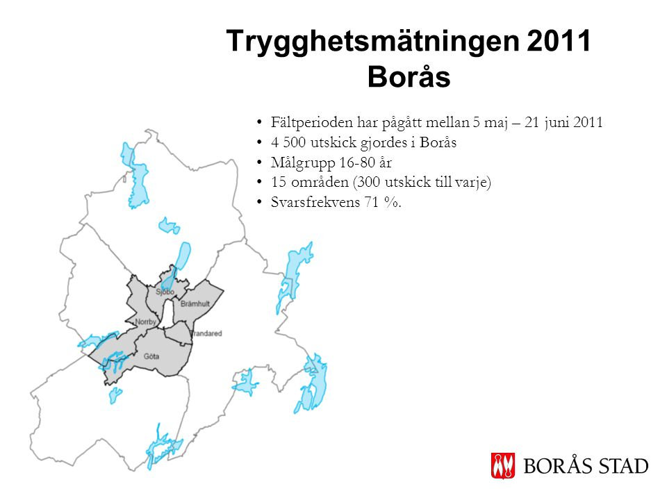 Trygghetsmätningen 2011 Borås