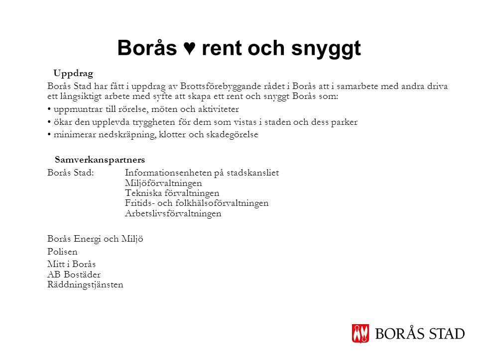 Borås ♥ rent och snyggt Uppdrag