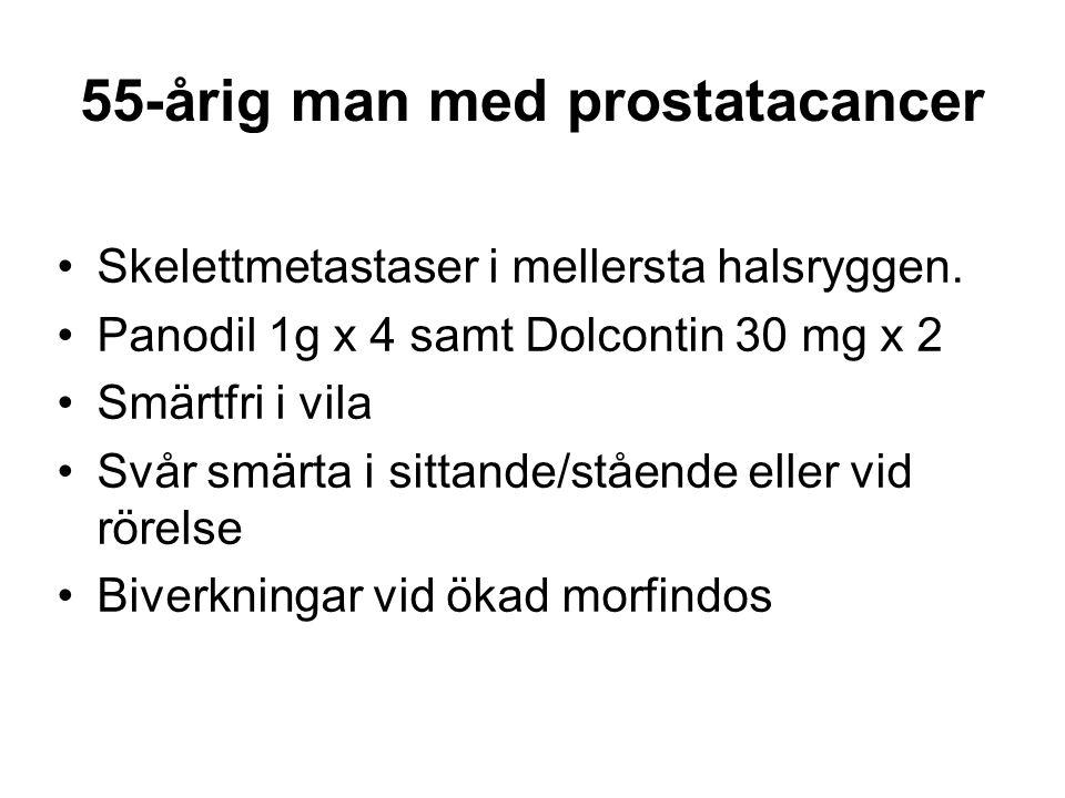 55-årig man med prostatacancer