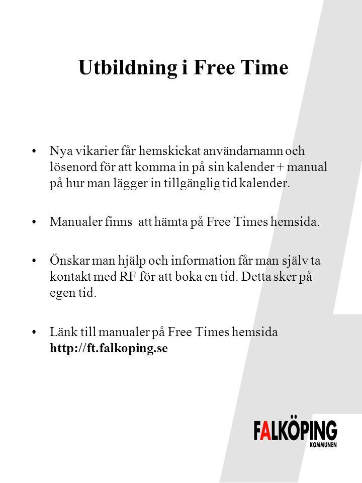 Utbildning i Free Time