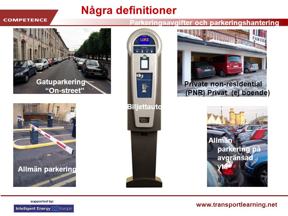 Private non-residential (PNR) Privat (ej boende)