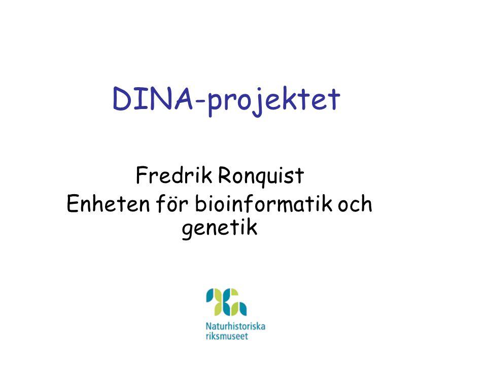 Enheten för bioinformatik och genetik