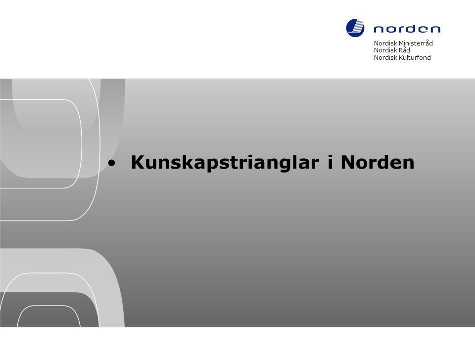 Kunskapstrianglar i Norden