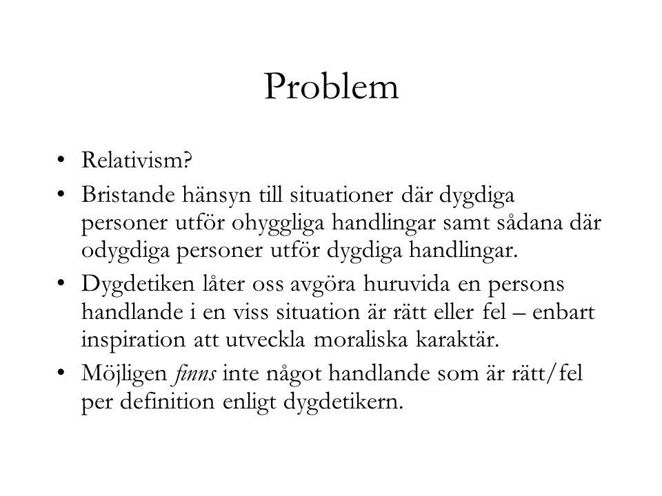 Problem Relativism
