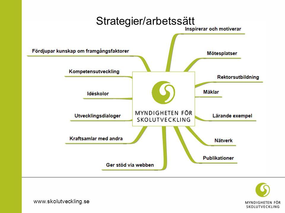 Strategier/arbetssätt