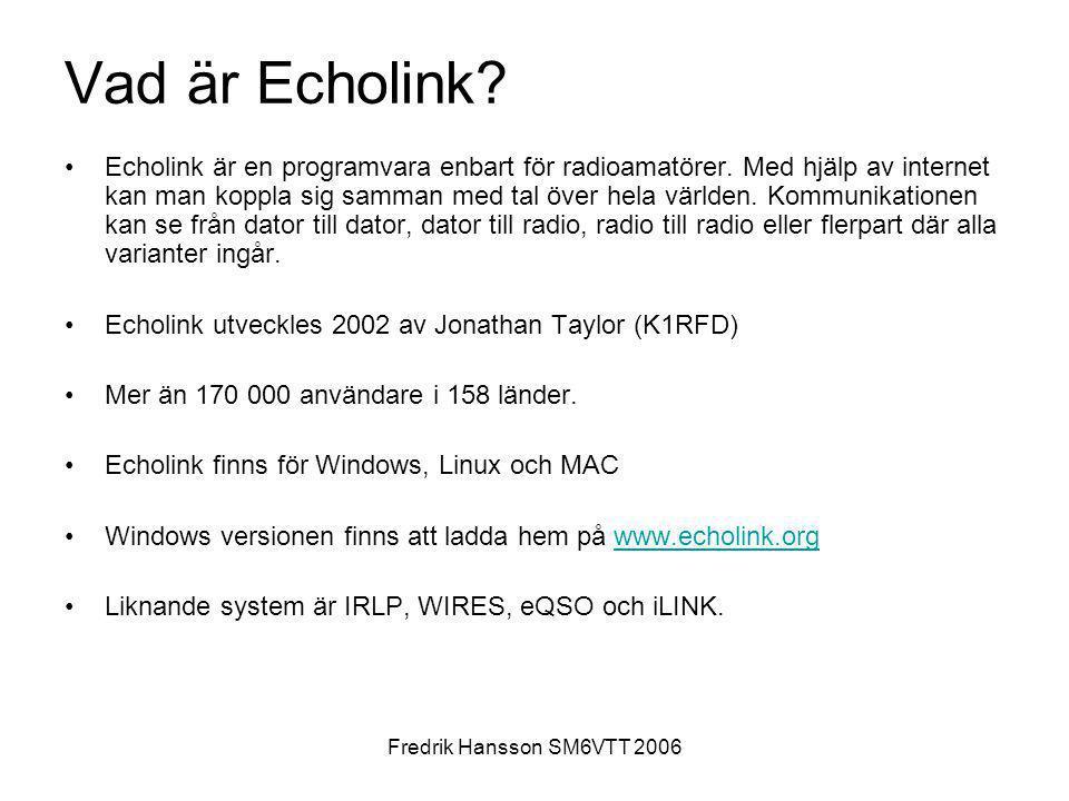 Vad är Echolink