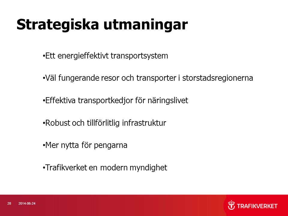 Strategiska utmaningar