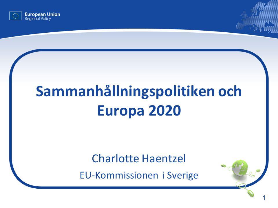 Sammanhållningspolitiken och Europa 2020