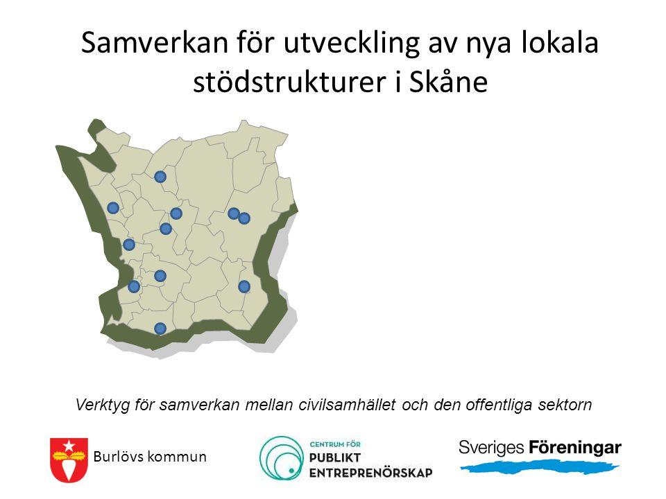 Samverkan för utveckling av nya lokala stödstrukturer i Skåne