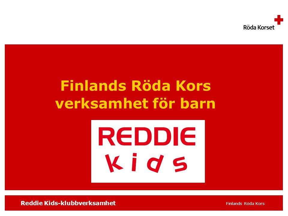Finlands Röda Kors verksamhet för barn