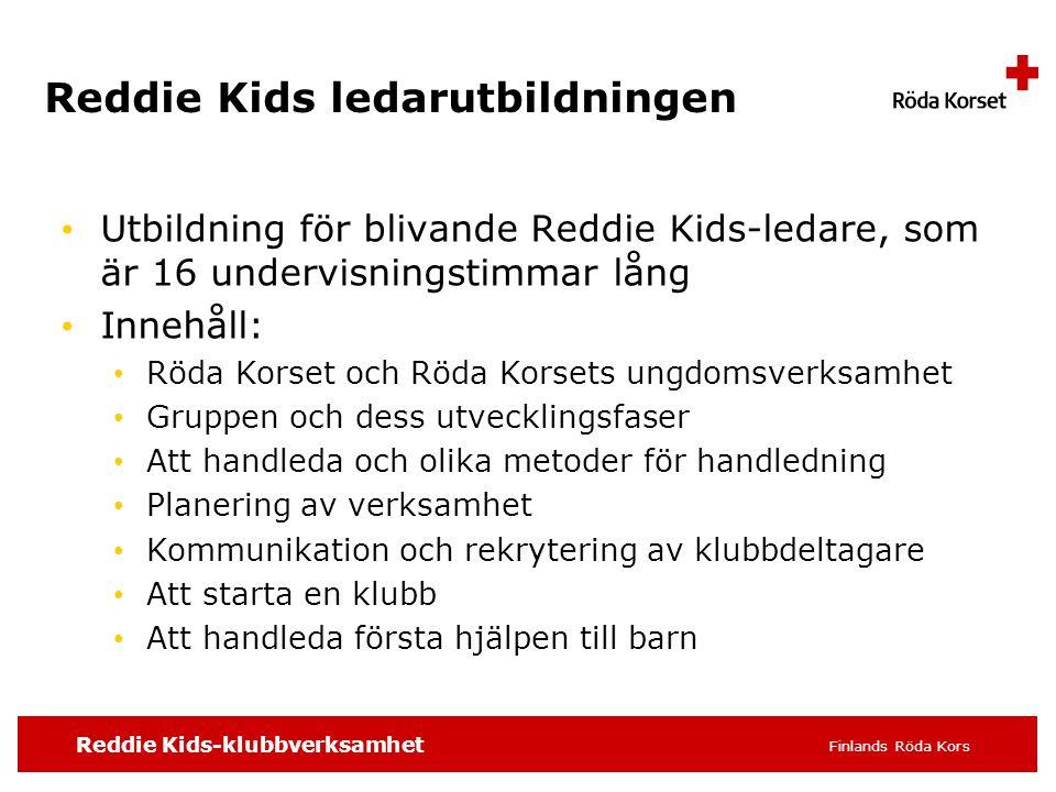 Reddie Kids ledarutbildningen