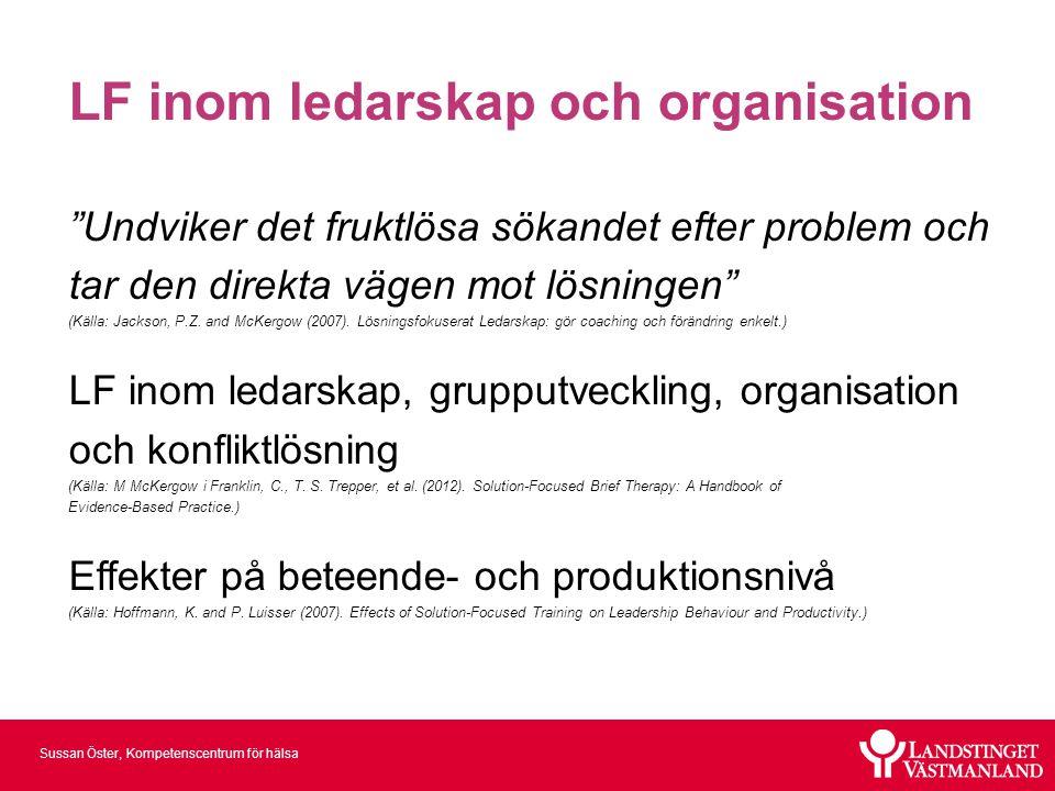 LF inom ledarskap och organisation
