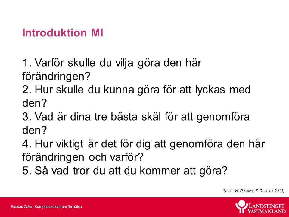 Introduktion MI