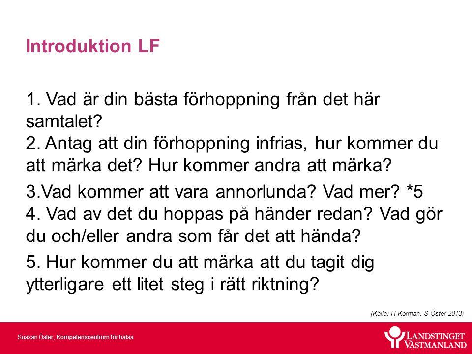 Introduktion LF