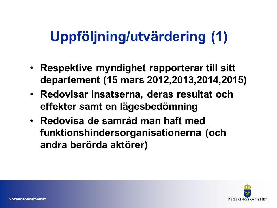 Uppföljning/utvärdering (1)