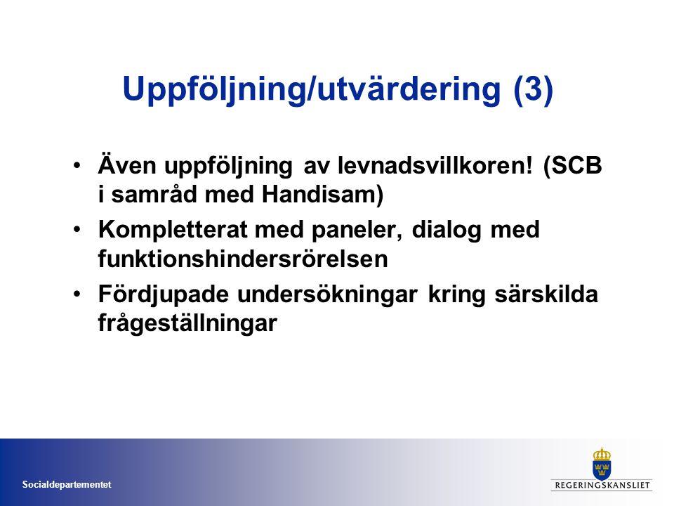 Uppföljning/utvärdering (3)